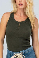 RIBBED TANK (2 colors)