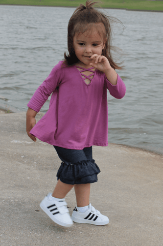 TODDLER CRISSCROSS TOP