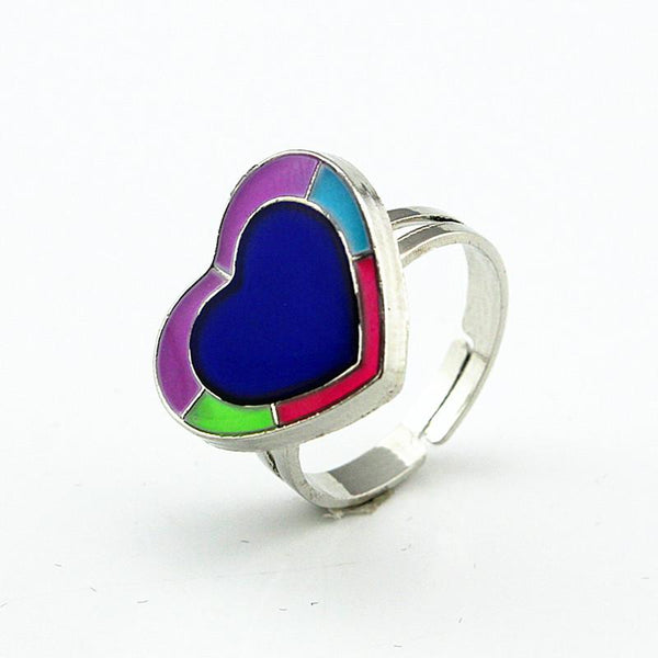 HEART SHAPED MOOD RING