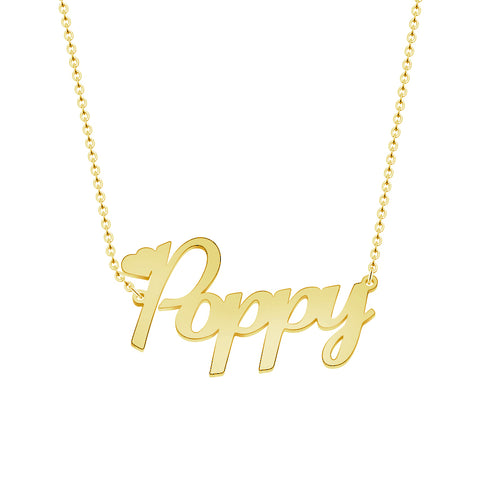Rose gold silver personalized name pendant necklace adoye rose gold silver personalized name pendant necklace mozeypictures Choice Image