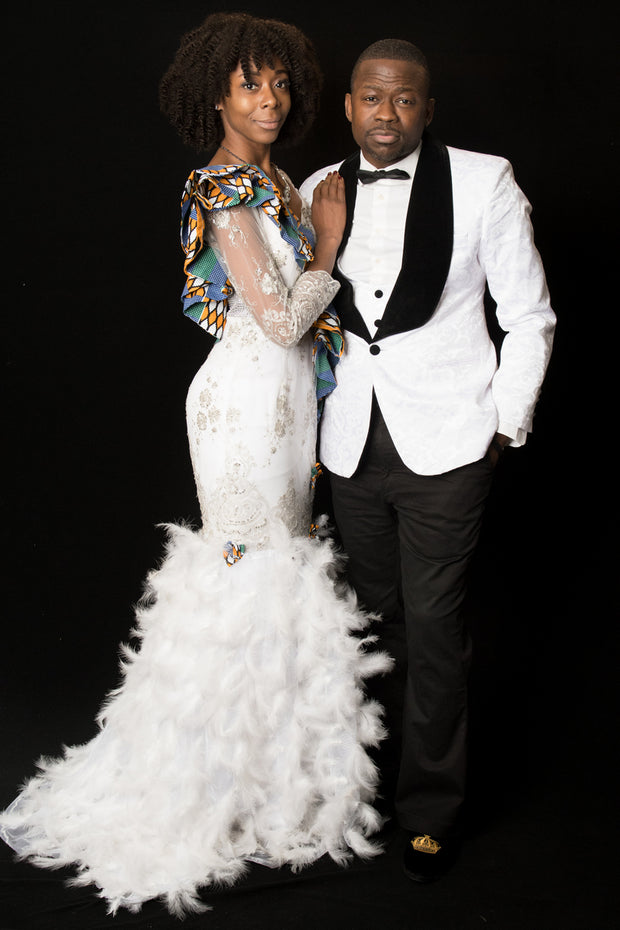 Women's Wedding Gown - Moh B. Couture