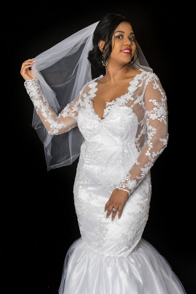 The T R A C Y Wedding Gown - Moh B. Couture