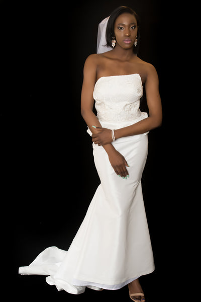 The ISHA Wedding Gown - Moh B. Couture