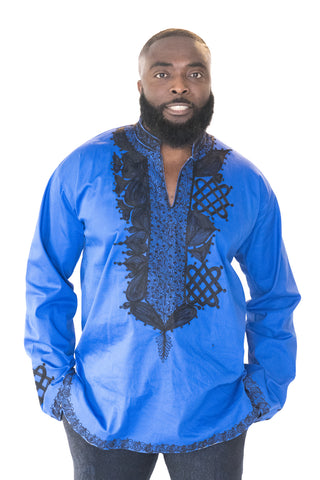 The Dan African Embroidered Men Tunic