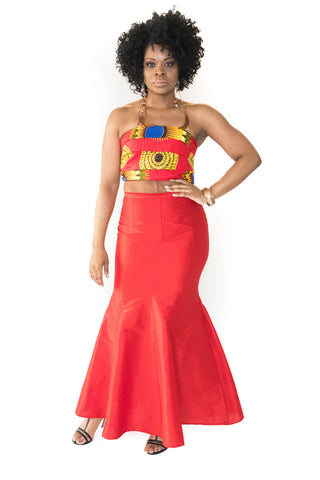 The Ode African Skirt Sets - Moh B. Couture