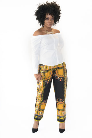 The Lucia Dashiki Pants - Moh B. Couture