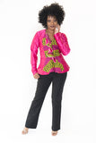 The Tope African Cape Blazer - Moh B. Couture