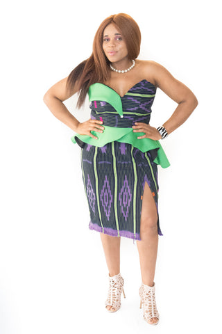 The Kwame African Skirt Sets