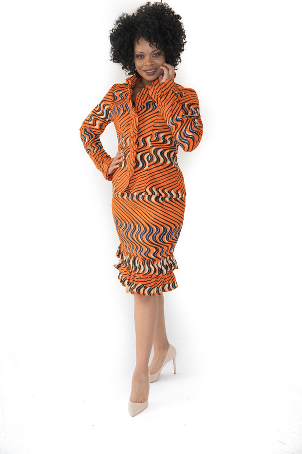 The Sabra African Skirt Sets - Moh B. Couture
