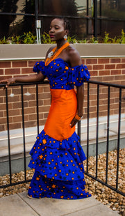 THE African Print YENENGA DRESS - Moh B. Couture