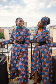 The African Print Kelechi Maxi Dress - Moh B. Couture