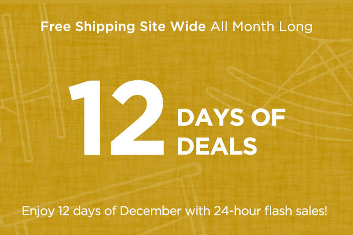 12 Days Of Deals + Free Shipping Site Wide
