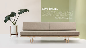 Save 15% Off Daybeds Through June!