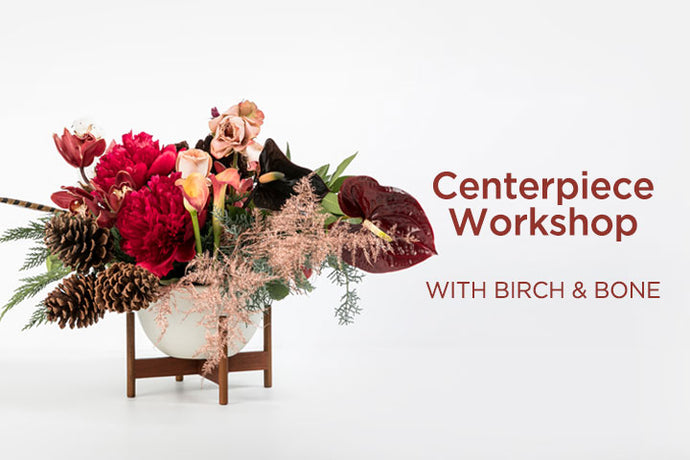 Modernica x Birch & Bone Centerpiece Workshop & Holiday Wreath Recap Video