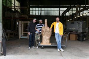 HUF x Haroshi Interview At Modernica Factory