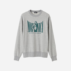 Woman on Modernica Logo Sweatshirt