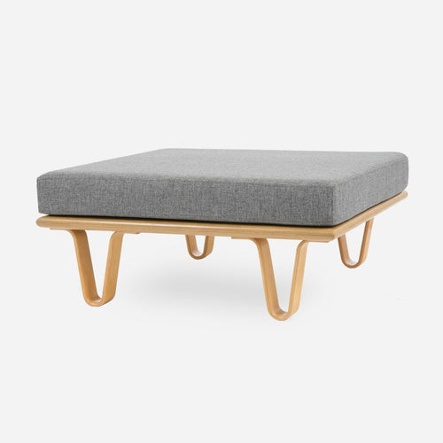Case Study® Furniture Bentwood Daybed Convertible Ottoman Square