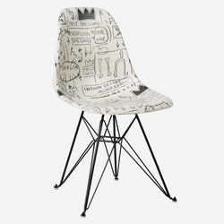 Jean-Michel Basquiat Case Study Furniture® Side Shell Eiffel Chair - Record