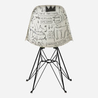 Jean-Michel Basquiat Case Study® Furniture Side Shell Eiffel Chair - Record