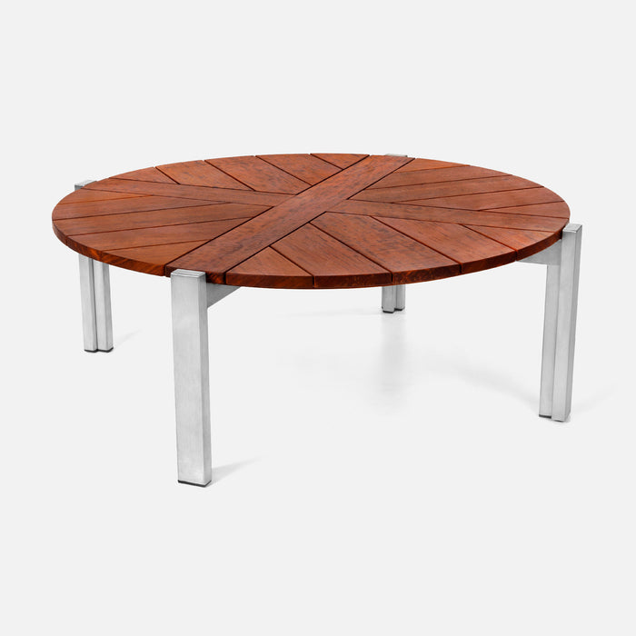 Case Study Furniture® Round Wood Coffee Table Sample