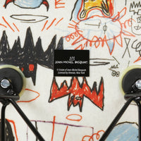 Jean-Michel Basquiat Case Study® Furniture Side Shell Eiffel Chair - Bats
