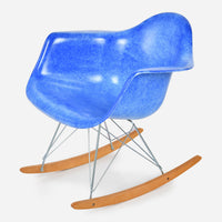 Maple Rocker - Zinc Wire Royal Blue