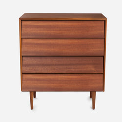 Case Study® Furniture Solid Wood 4 Drawer Dresser