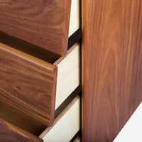 Case Study Furniture® Solid Wood 4 Drawer Dresser