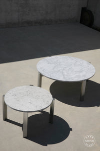 case-study®-stainless-floating-marble-coffee-table