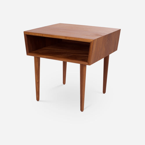 Case Study® Furniture Solid Wood Bedside Table