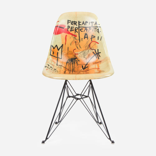 Jean-Michel Basquiat Case Study® Furniture Side Shell Eiffel Chair - Per Capita
