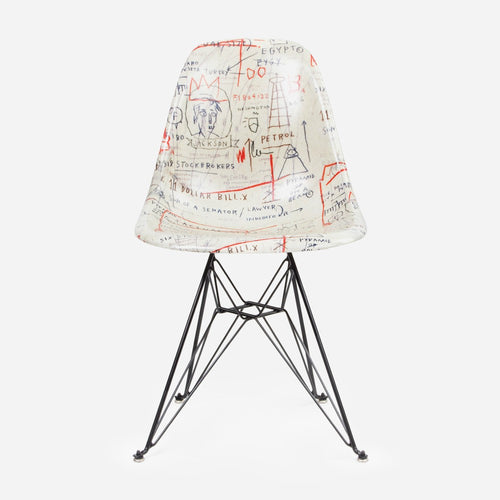 Jean-Michel Basquiat Case Study Furniture® Side Shell Eiffel Chair - Jackson