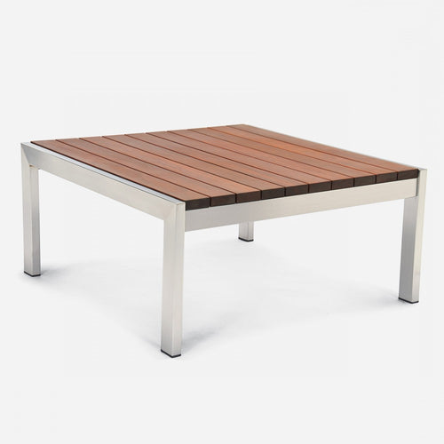 Case Study® Stainless Coffee Table Square