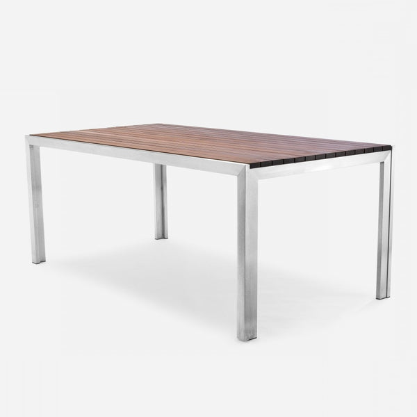 Case Study Furniture Stainless Dining Table Modernica Inc - 6ft stainless steel table