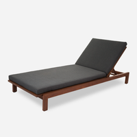 Case Study Furniture® Solid Wood Chaise - Upholstered