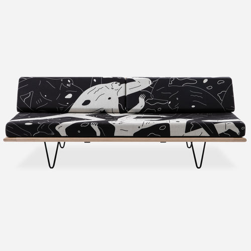Cleon Peterson V-Leg Daybed Left Side - Land of Shadows - PRE-ORDER Limited to 50