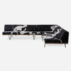 Cleon Peterson V-Leg Daybed Sectional - Land of Shadows - PRE-ORDER Limited to 50