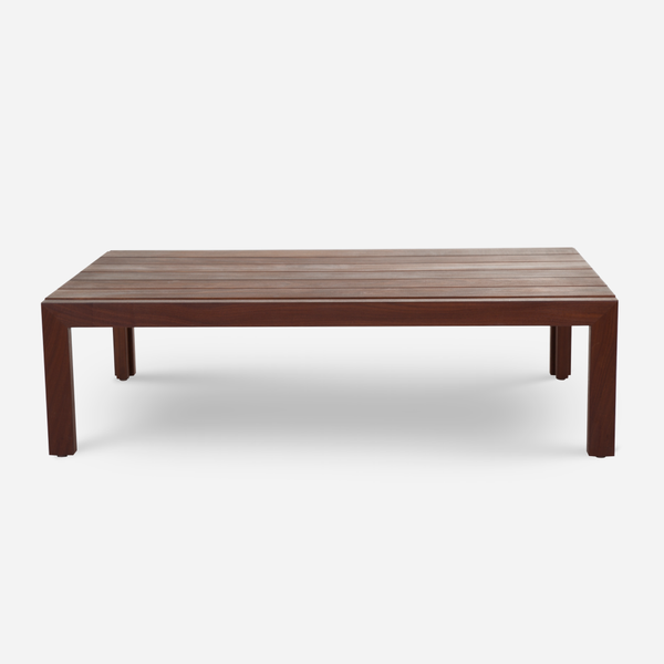 Case Study Furniture Solid Wood Coffee Table Rectangle Modernica Inc - Outdoor rectangular coffee table cover