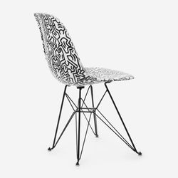 Keith Haring Case Study® Furniture Side Shell Eiffel Chair - Figures