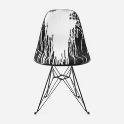 KRINK x Modernica Case Study Furniture® Side Shell Eiffel Upholstered Chair - Edition Of 100
