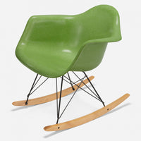 Maple Rocker - Black Wire Apple