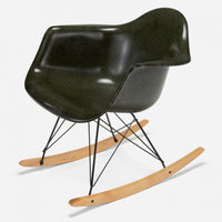 Maple Rocker - Black Wire Army Green
