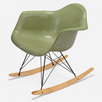 Maple Rocker - Black Wire Celery