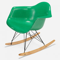 Maple Rocker - Black Wire Grass Green