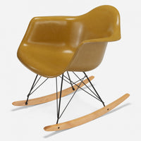 Maple Rocker - Black Wire Mustard