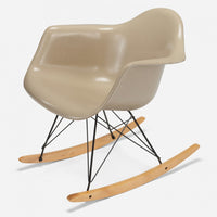 Maple Rocker - Black Wire Oatmeal