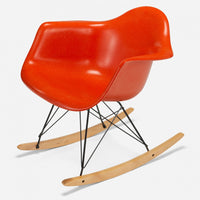 Maple Rocker - Zinc Wire Orange