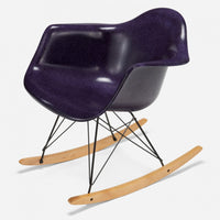 Maple Rocker - Black Wire Purple