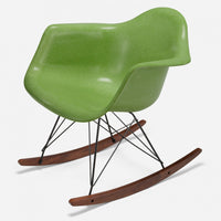 Walnut Rocker - Black Wire Apple