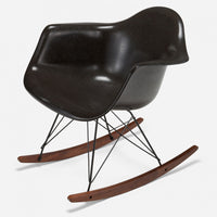 Walnut Rocker - Black Wire Charcoal